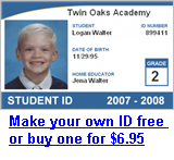 Free Homeschool ID Card Template